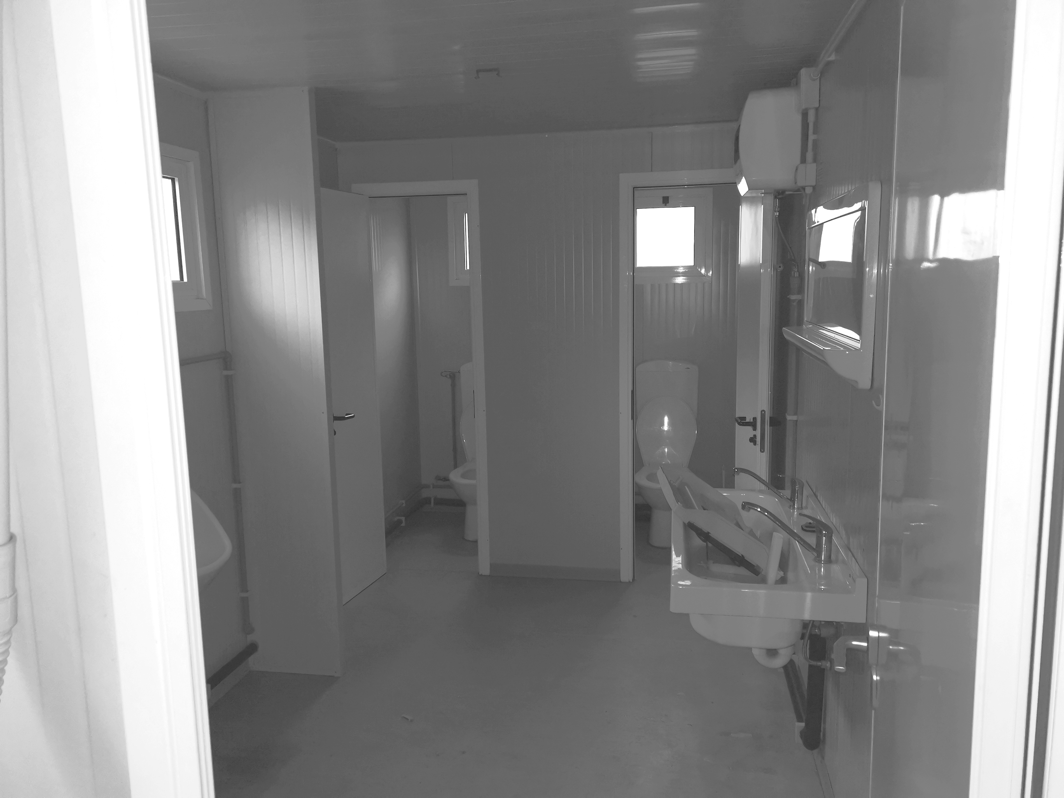 Container WC Anlage